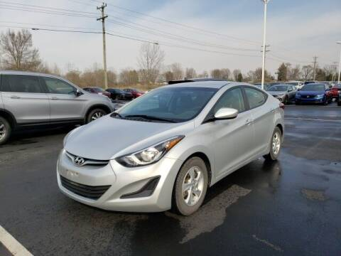 2015 Hyundai Elantra for sale at White's Honda Toyota of Lima in Lima OH