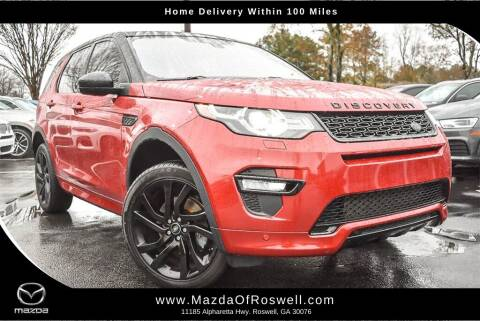 2017 Land Rover Discovery Sport for sale at Mazda Of Roswell in Roswell GA