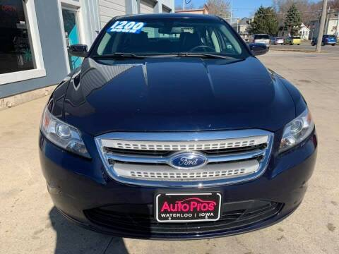 2011 Ford Taurus for sale at AutoPros - Waterloo in Waterloo IA