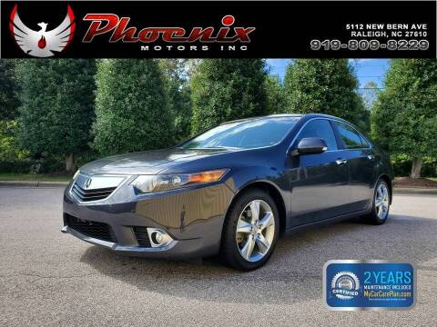 2013 Acura TSX for sale at Phoenix Motors Inc in Raleigh NC