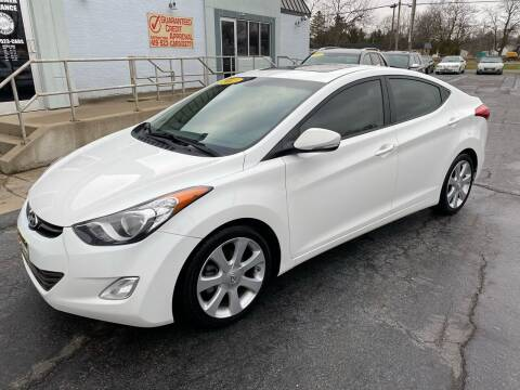 2013 Hyundai Elantra for sale at Huggins Auto Sales in Ottawa OH
