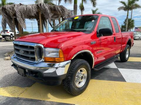 2001 Ford F-250 Super Duty for sale at D&S Auto Sales, Inc in Melbourne FL
