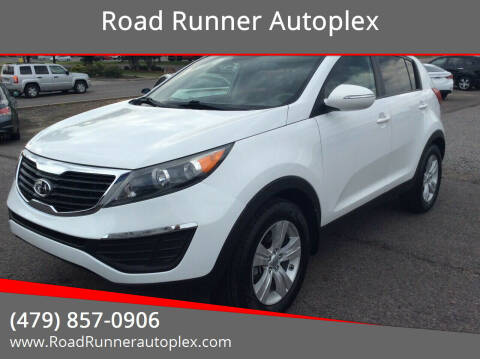 2012 Kia Sportage for sale at Road Runner Autoplex in Russellville AR
