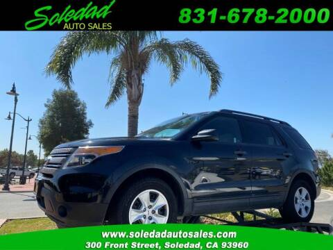 2013 Ford Explorer for sale at Soledad Auto Sales in Soledad CA