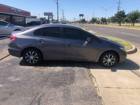 2015 Honda Civic for sale at United Auto Sales in Oklahoma City OK