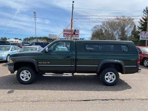 1997 Dodge Ram Pickup 1500 for sale at Affordable 4 All Auto Sales in Elk River MN