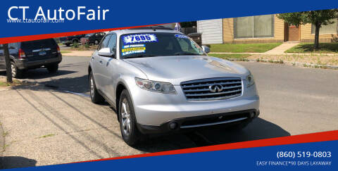 2008 Infiniti FX35 for sale at CT AutoFair in West Hartford CT
