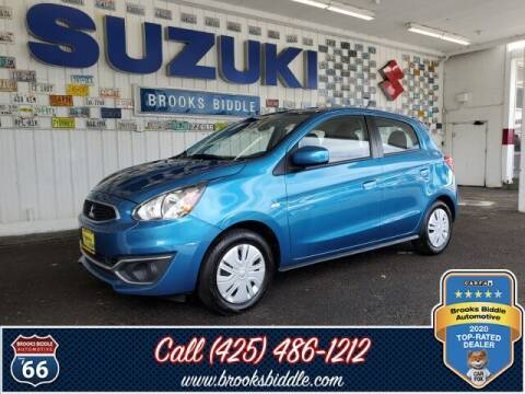 2017 Mitsubishi Mirage for sale at BROOKS BIDDLE AUTOMOTIVE in Bothell WA