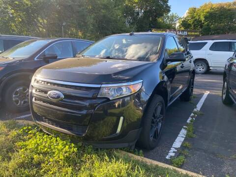 2014 Ford Edge for sale at Chinos Auto Sales in Crystal MN