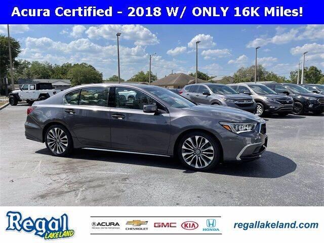 2018 Acura RLX for sale in Lakeland, FL