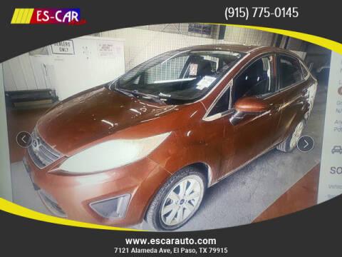 2011 Ford Fiesta for sale at Escar Auto in El Paso TX