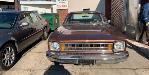 1977 Chevrolet Nova for sale at Frank's Garage in Linden NJ
