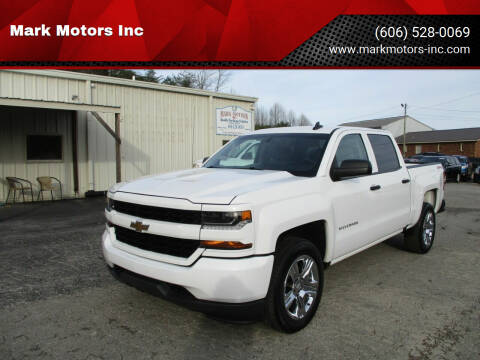 2018 Chevrolet Silverado 1500 for sale at Mark Motors Inc in Gray KY