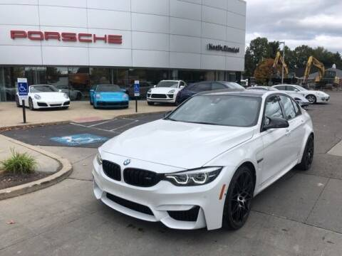 2018 BMW M3 for sale at PORSCHE OF NORTH OLMSTED in North Olmsted OH