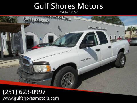 2004 Dodge Ram Pickup 2500 for sale at Gulf Shores Motors in Gulf Shores AL