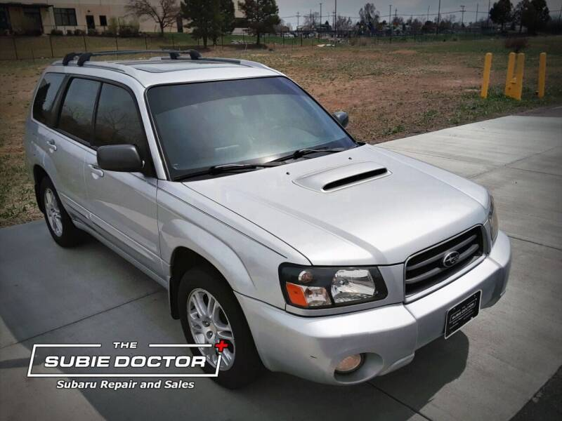 2005 Subaru Forester for sale at The Subie Doctor in Denver CO
