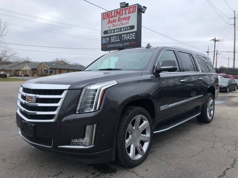 2017 Cadillac Escalade ESV for sale at Unlimited Auto Group in West Chester OH