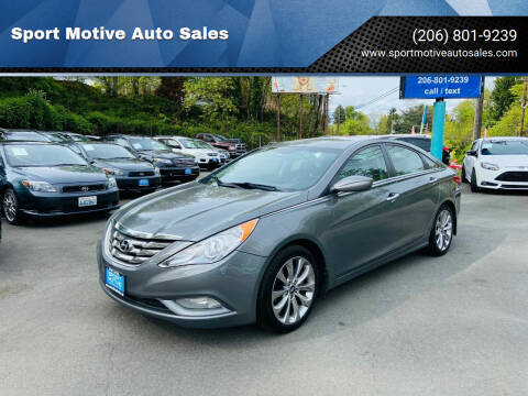 2012 Hyundai Sonata for sale at Sport Motive Auto Sales in Seattle WA