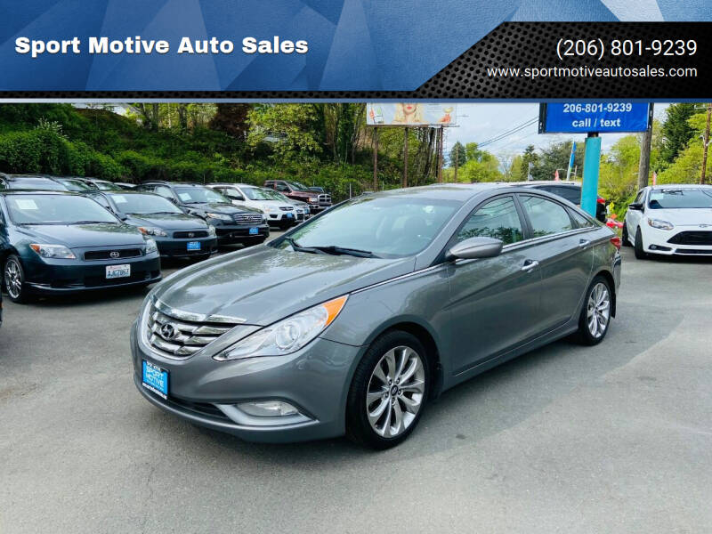 2012 Hyundai Sonata for sale at Sport Motive Auto Sales in Seattle WA