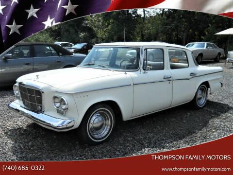1962 Studebaker Lark for sale at THOMPSON FAMILY MOTORS in Senecaville OH