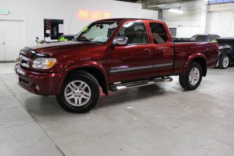 2006 Toyota Tundra for sale at R n B Cars Inc. in Denver CO