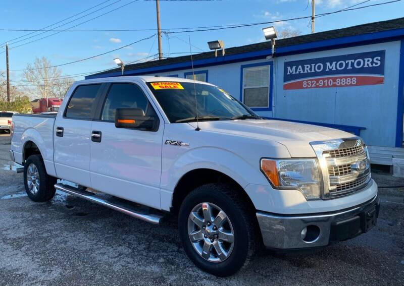 2014 Ford F-150 for sale at Mario Motors in South Houston TX