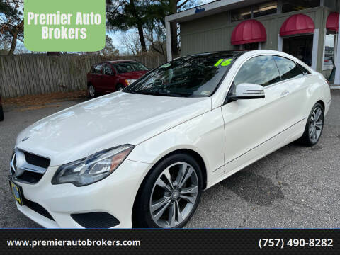 2015 Mercedes-Benz E-Class for sale at Premier Auto Brokers in Virginia Beach VA