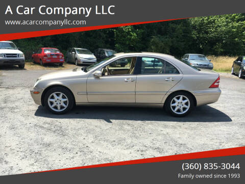 2002 Mercedes-Benz C-Class for sale at A Car Company LLC in Washougal WA