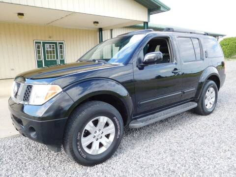 2006 Nissan Pathfinder for sale at WESTERN RESERVE AUTO SALES in Beloit OH