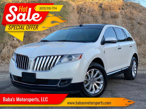 2012 Lincoln MKX for sale at Baba's Motorsports, LLC in Phoenix AZ