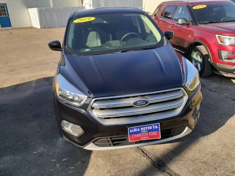 2019 Ford Escape for sale at Albia Motor Co in Albia IA