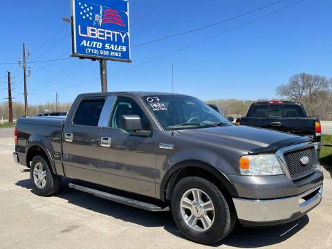 2007 Ford F-150 for sale at Liberty Auto Sales in Merrill IA
