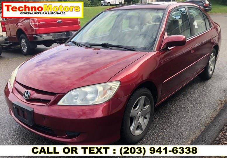 2005 Honda Civic for sale at Techno Motors in Danbury CT