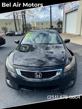 2008 Honda Accord for sale at Bel Air Motors in Mobile AL