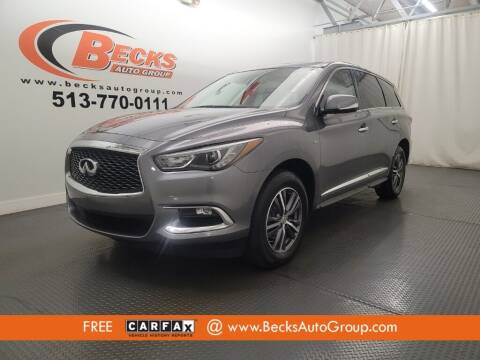 2019 Infiniti QX60 for sale at Becks Auto Group in Mason OH