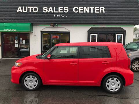 2014 Scion xB for sale at Auto Sales Center Inc in Holyoke MA