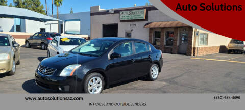 2007 Nissan Sentra for sale at Auto Solutions in Mesa AZ