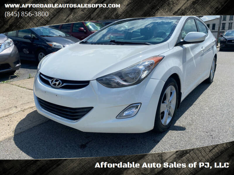 2013 Hyundai Elantra for sale at Affordable Auto Sales of PJ, LLC in Port Jervis NY