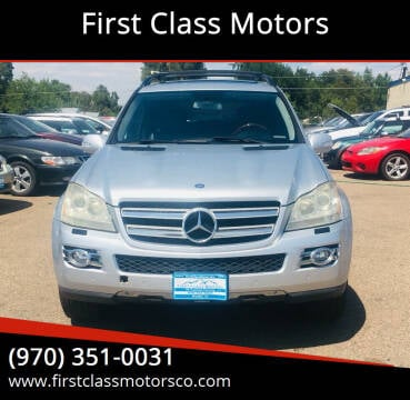 2007 Mercedes-Benz GL-Class for sale at First Class Motors in Greeley CO