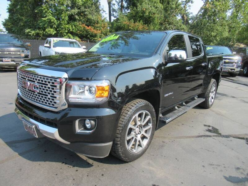 2018 GMC Canyon for sale at LULAY'S CAR CONNECTION in Salem OR