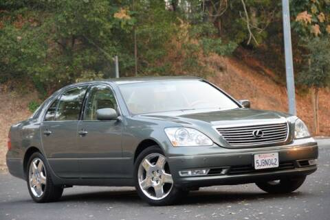 2004 Lexus LS 430 for sale at VSTAR in Walnut Creek CA