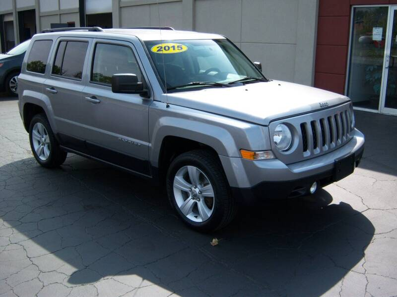 2015 Jeep Patriot for sale at Blatners Auto Inc in North Tonawanda NY