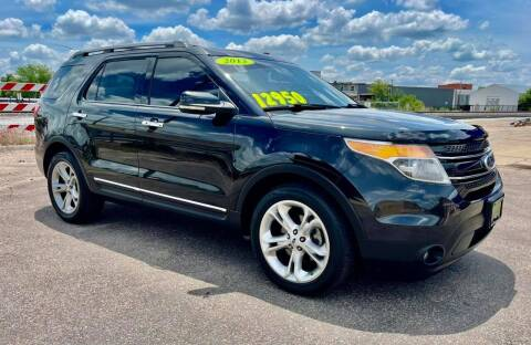 2013 Ford Explorer for sale at Island Auto Express in Grand Island NE