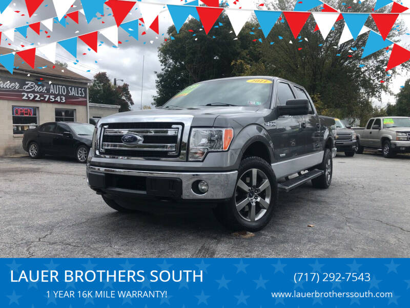 2011 Ford F-150 for sale at LAUER BROTHERS SOUTH in York PA