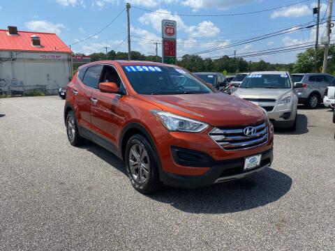 2013 Hyundai Santa Fe Sport for sale at ACP Auto Wholesalers in Berlin NJ