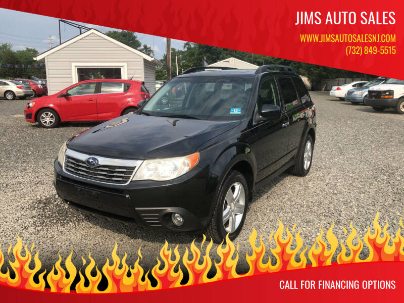 2010 Subaru Forester for sale at Jims Auto Sales in Lakehurst NJ