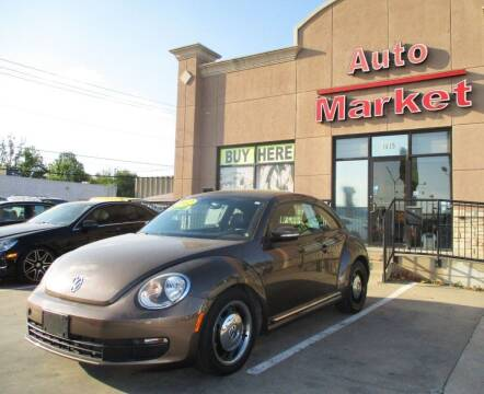 2012 Volkswagen Beetle for sale at Auto Market in Oklahoma City OK