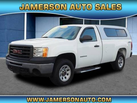 2013 GMC Sierra 1500 for sale at Jamerson Auto Sales in Anderson IN