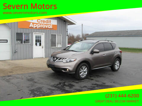 2011 Nissan Murano for sale at Severn Motors in Cadillac MI
