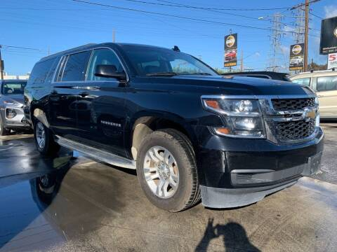 2017 Chevrolet Suburban for sale at Best Buy Quality Cars in Bellflower CA